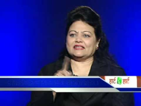 Dr. Vasa on Zee News Marathi in the programme 'Hearts to Hearts'